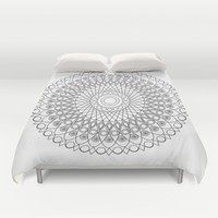 Mandala no 3 Duvet Cover by Hedehede