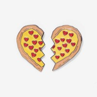 Laser Kitten Pizza Besties 2-pc Pin Set
