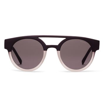 Komono - Dreyfuss Matte Black/Transparent Sunglasses