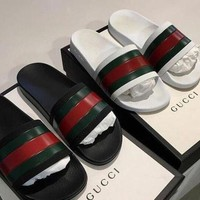 Day-First™ Gucci Woman Men Fashion Casual Sandals Slipper Shoes