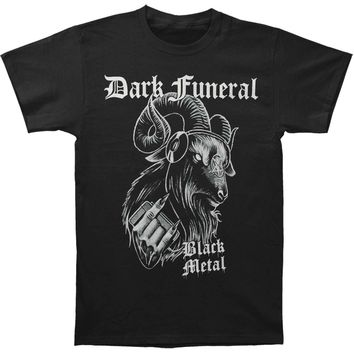 Dark Funeral Men's  Black Metal T-shirt Black