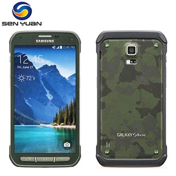 "Original Unlocked Samsung Galaxy S5 Active G870 G870A Mobile Phone Quad Core 2GB RAM 16.0MP 5.1""TouchScreen Cell Phone"