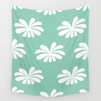 Flower Flow 01 Wall Tapestry by Colourstorm | Society6