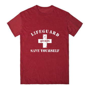 Lifeguard Off Duty Save Yourself White