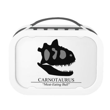 Carnotaurus Skull Lunch Box