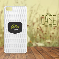 Personalized iPhone 4 / 4s or iPhone 5 Case - Plastic iPhone case - Rubber iPhone case - Name iPhone case - CB004
