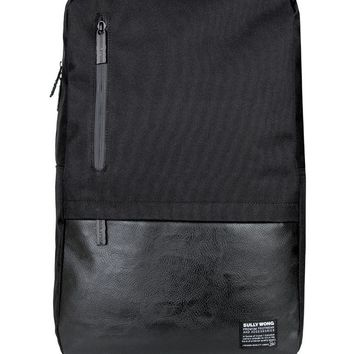 Courier Backpack (Vegan Leather)