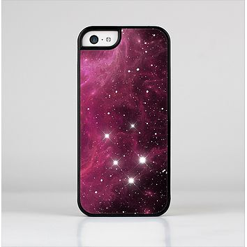 The Glowing Pink Nebula Skin-Sert Case for the Apple iPhone 5c