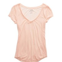AERIE BASIC V-NECK T-SHIRT