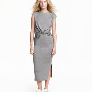 Long Wrap Dress - from H&M