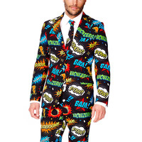 An Ode To Comic-Con Dress Suit