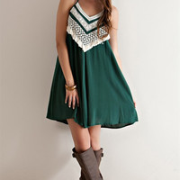Trust Me I Can Take You There Dress: Green