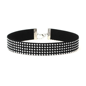 Stylish New Arrival Jewelry Shiny Gift Accessory Korean Rivet Punk Necklace [10681942095]
