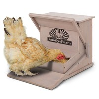 Precision Pet Chicken Feeder (Grey)