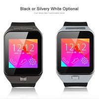 Free DHL GV09 Smart Watch Support Android IOS Bluetooth Watches Phone SIM Support Camera TF
