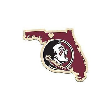 NCAA Florida State Seminoles Home State Auto Car Window Vinyl Decal Sticker