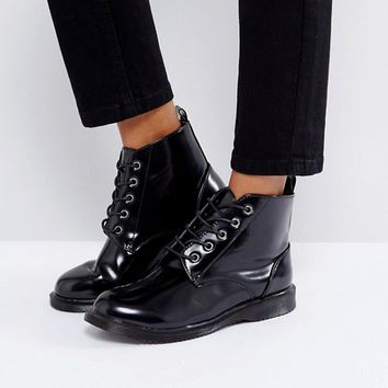 Truffle Collection Lace Up Ankle Boots at asos.com