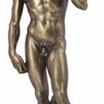 David Statue by Michelangelo, Bonded Bronze - 7903