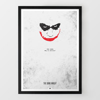 The Dark Knight By DopePrints at Firebox.com