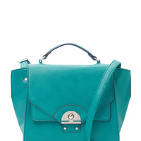 Danielle Nicole Women's Brooklynne Faux Leather Satchel - Green