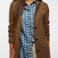 Urban Outfitters - Coincidence & Chance Mixed Stitch Classic Cardigan