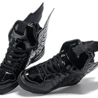 Jeremy Scott x adidas Originals Wings 3.0 Black Men Women Sneaker
