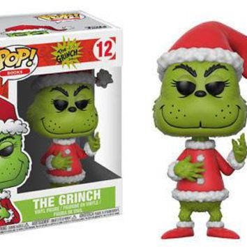 Funko Pop! Books: The Grinch - Santa Grinch Vinyl Figure
