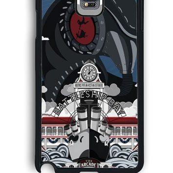 Samsung Galaxy Note 4 Case - Hard (PC) Cover with Bioshock Infinite Poster Plastic Case Design