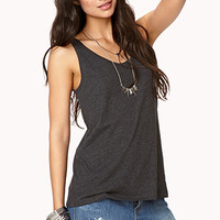 Favorite Scoop Neck Tank | FOREVER 21 - 2002246475