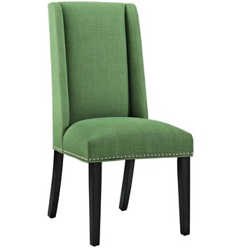 Baron Fabric Dining Chair Kelly Green EEI-2233-GRN