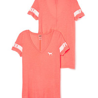 V-neck Pocket Tee - PINK - Victoria's Secret
