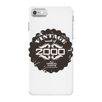 vintage made of 2000 all original parts iPhone 7 Case
