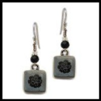 Mixed Bouquet Eco-Spirit Crystal Recycled Glass Earrings - Spirit Lala Store