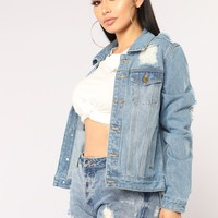 Iconic Denim Jacket - Medium
