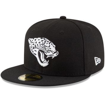 ICIKG8Q NFL Jacksonville Jaguars Men's New Era B-Dub 59Fifty Fitted Hat