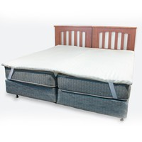 Science of Sleep KingMaker 2-inch Twin Bed Connector Mattress Pad | Overstock.com Shopping - The Best Deals on Mattress Pads