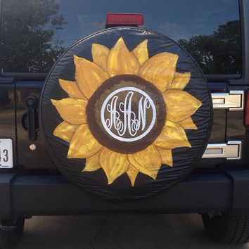 custom painted spare tire cover