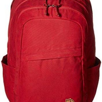 Fjallraven - Raven 28L Backpack, Redwood, Unpacking Adventure Since 1960