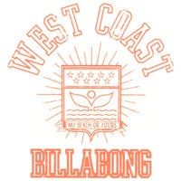 Billabong Something Is Cooking Sticker Orange One Size For Women 21891670001