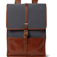 Miansai - Harbour Canvas and Leather Backpack | MR PORTER