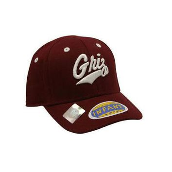 Licensed Montana Grizzlies Official NCAA Infant One Fit Hat Cap Montana Top Of The World KO_19_1