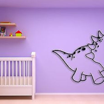 Wall Sticker For Kids Baby Dinosaur Cool Decor for Nursery Room z1399