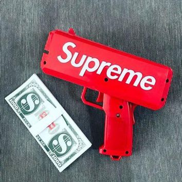 ca auguau Supreme Cash Cannon Money Gun SS17 Make It Rain