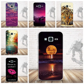 Soft Rubber Cover for Samsung J3 2016 Phone Cases For Samsung Galaxy J3 2015 Case J320 J320F J320H Slim Soft Silicone Phone Case