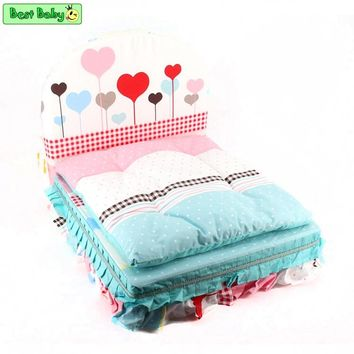 Lovers Dog Bed For Small Dogs Blue Pink Princess Pillow Blanket Cushion Bedding Sets For Pets Cats Chihuahua Yorkie Poodle Pugs