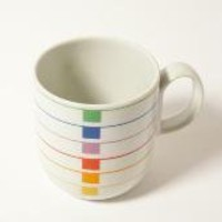 Retro Block China Harmony MUG Sextet designed by modernspecific