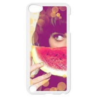 itouch hard back cover case for iPod touch 5 with Katy perry logo