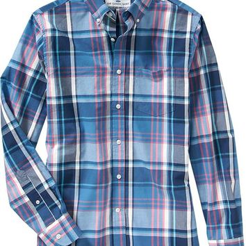 Old Navy Mens Slim Fit Classic Shirts
