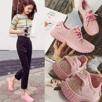 Casual Comfort Hot Sale On Sale Hot Deal Korean Stylish Shoes Summer Soft Thick Crust Sneakers [9448884167]