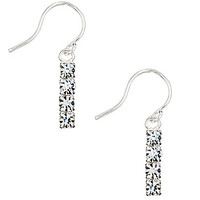 Cezanne Mini Crystal Linear Earrings
